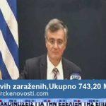 Koronavirus: 48 novih slučajeva u Grčkoj – ukupno 743 – 20 preminulih