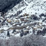 U Grčkoj pao sneg, zabelela se Zapadna Makedonija
