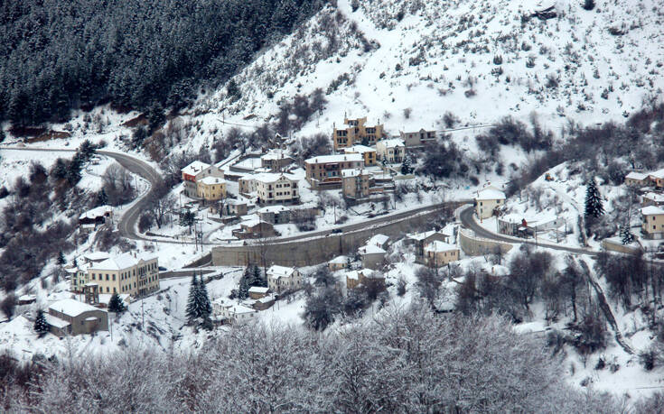 sneg u Grčkoj