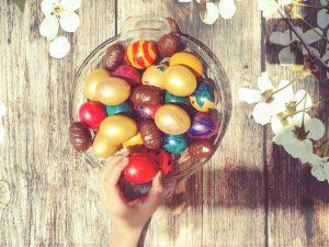 Uskršnje crveno jaje