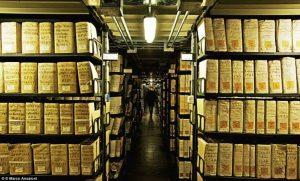 Vatikanska tajna arhiva, Vatikan
