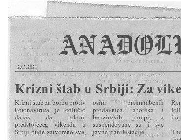 2 Krizni štab u Srbiji Za vikend