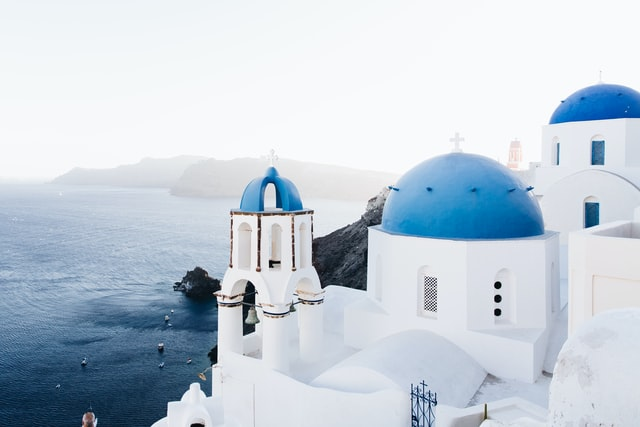 Santorini Grčka letovanje