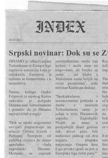Sport Dinamo Partizan Crvena Zvezda