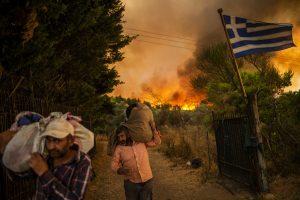 Požar Grčka Katastrofa