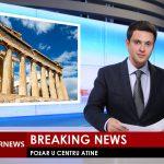 Veliki požar u centru Atine