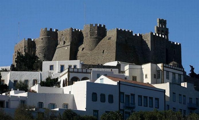NAJLEPŠI MANASTIRI GRČKE –  Manastir Svetog Jovana Teologa Sa Patmosa