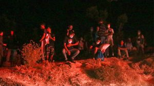 Požar Moria Grčka Lezbos