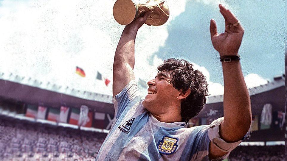 """R.I.P. Diego Grande Maradona – """"Božja ruka"""""""