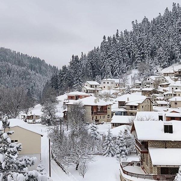 Zima u Grčkoj