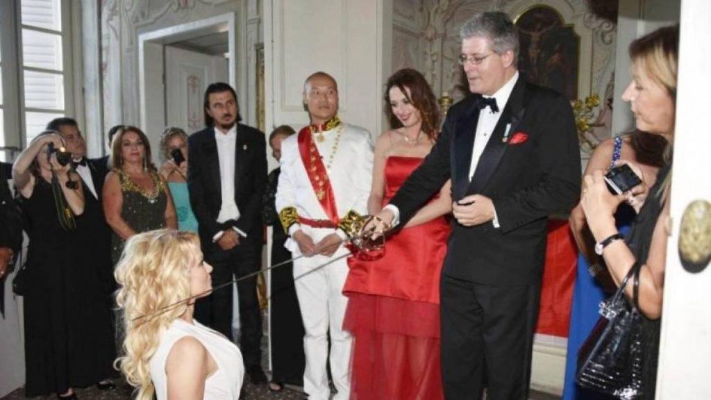 Pamela Anderson i Crnogorski Princ Stefan Čarnetić