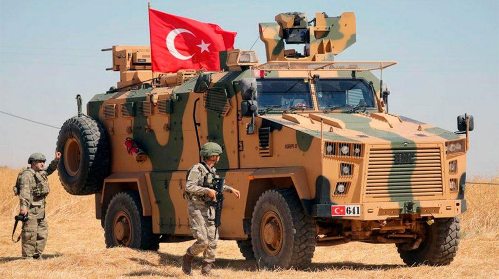 Turska borbena vozila