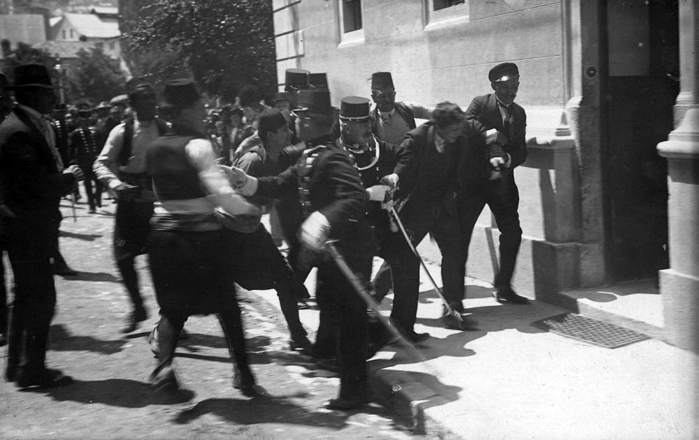Hapšenje Gavrila Principa
