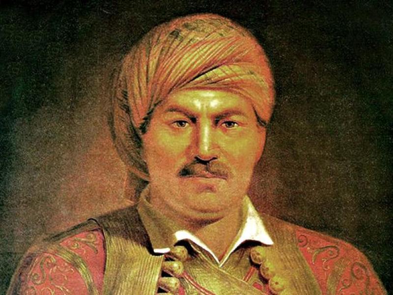 Propali grčki ustanak pod vođstvom generala Vasosa  Mavrovouniotisa (Vaso Crnogorac) u Siriji
