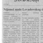 Nijemci mole Levadovskog da ne sruši Gerdov rekord: Nemoj igrati, napravi to iz poštovanja